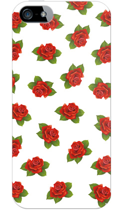 uistore「excellent rose(white)」 / for  iPhone 5/SoftBank