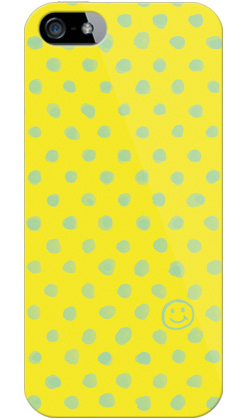 uistore「Dot (Smile)」 / for  iPhone 5/SoftBank