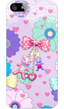 uistore「Flower★Bear」 / for  iPhone 5/SoftBank