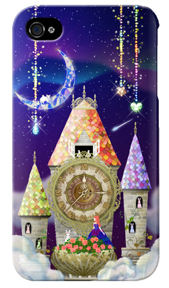 uistore「magical clock tower」 / for  iPhone 4S/SoftBank