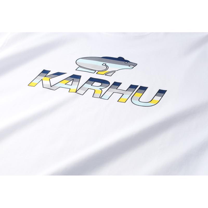 【KARHU】Team College T-shirt WHITE/ENSIGN BLUE/MC