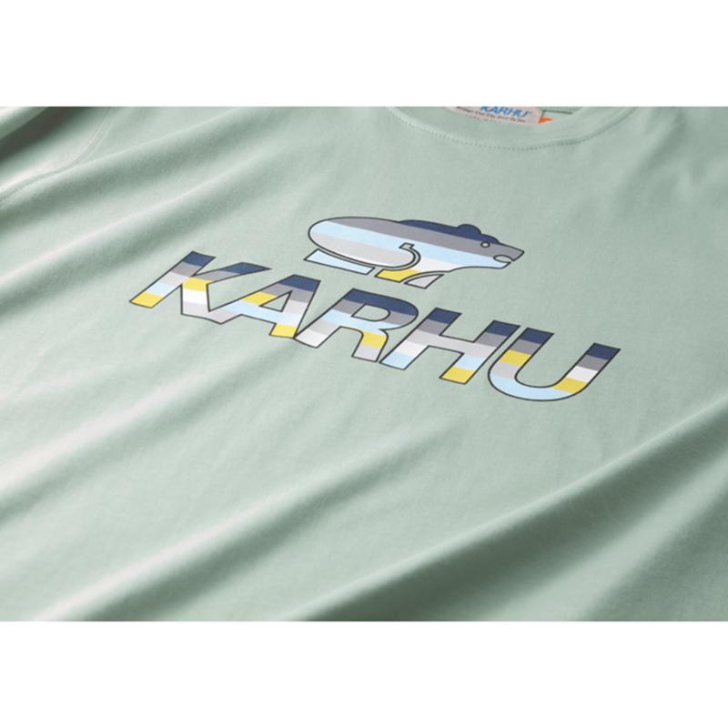 【KARHU】Team College T-shirt DESERT SAGE/ENSIGN BLUE/MC