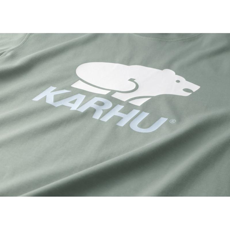 【KARHU】Basic Logo T-Shirt VETIVER/WHITE