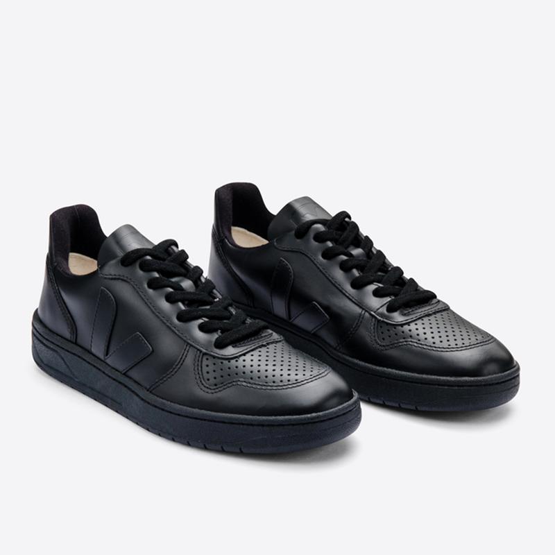 VEJA(ヴェジャ) V-10 BLACK BLACK-SOLE