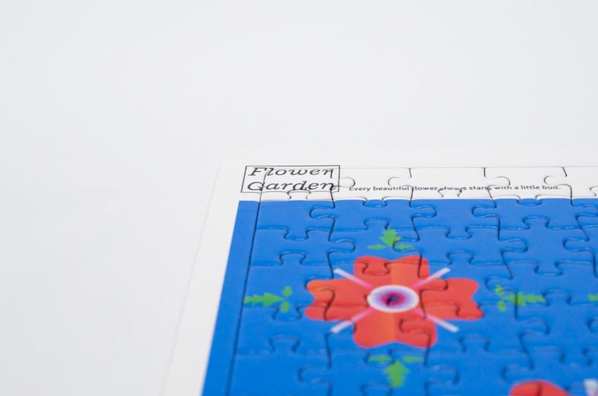 「Flower Garden」AKIRA MIYAMAE<br>A4ジグソーパズル