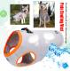 【国内配送】犬用 クーリングベスト M オレンジ 熱中症予防 散歩 涼しい