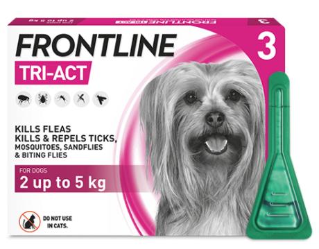 フロントライン トライアクト 超小型犬用 3本入り Frontline Tri-Act XS