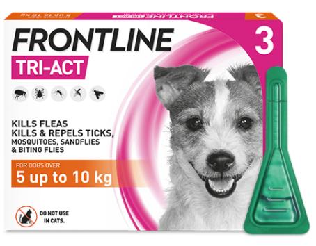フロントライン トライアクト 小型犬用 3本入り Frontline Tri-Act S