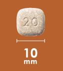 シンパリカ 20mg   5.1-10.1kg   3錠入り   犬用ノミ・マダニ駆除薬   Simparica  