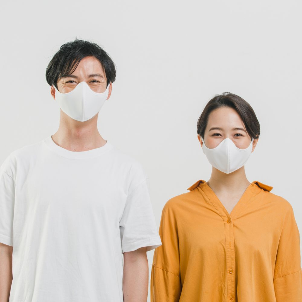 【10%OFF】「笑顔のマスク」SMLE 4枚セット【サイズ組み合わせ自由】