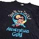 Australian Gold コアラプリントT アメリカ直輸入 半袖Tシャツ 送料無料 メンズ L/黒・ブラック MADE IN USA オールド 動物 アニマル 古着卸 業販 シングルステッチ