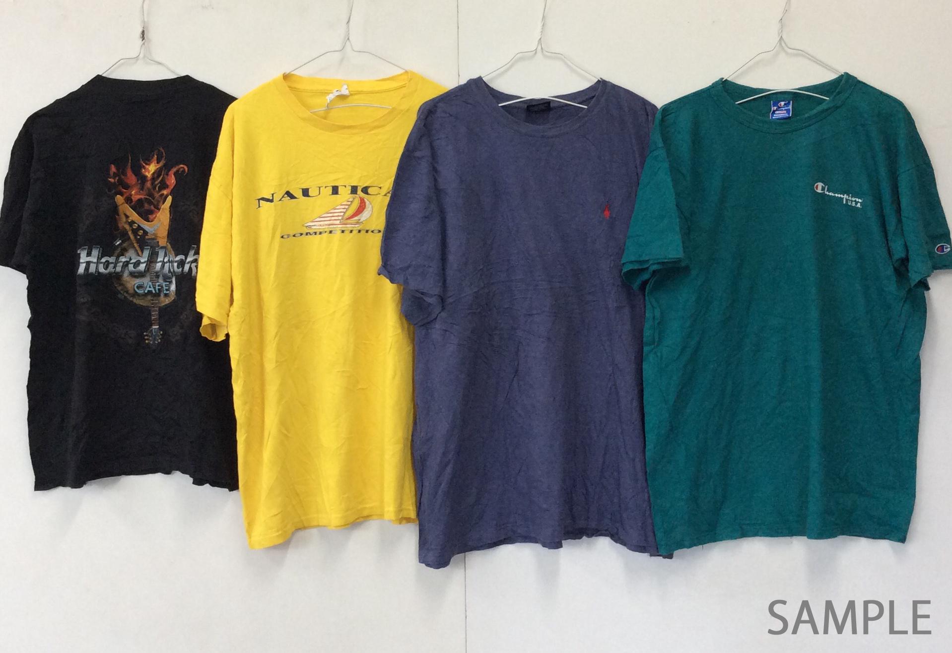 【受注生産】【半袖Tシャツ レギュラーサイズ】 S - M - L 100lbs=45.3kg アメリカ古着 ベール 送料無料 まとめ売り 福袋 業販 古着卸 アメカジ USA輸入 ブランド セット アソート リメイク素材 メンズ レディース ユニセックス ヴィンテージ プリントT