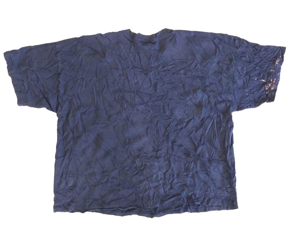 アメリカ古着 半袖Tシャツ こぐまT 送料無料 レディース 3X/紺・ネイビー オーバーオール ひまわり カイト MADE IN USA 古着卸 業販 大きい ビッグ オーバー