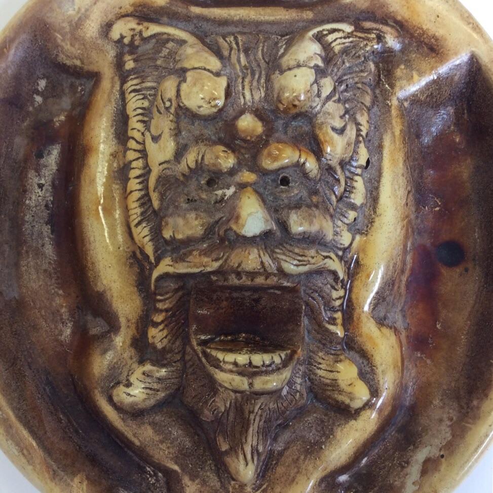 アメリカ雑貨 アンティーク Omen お香立て 小物入れ 灰皿 ビンテージ 輸入品 インセンスホルダー オーメン アシュトレイ