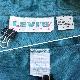 LEVI'S リーバイス アメリカ古着 半袖ポロシャツ ビッグE 送料無料 メンズ L/青緑系 鹿の子 ワンポイント ロゴ USA アメカジ ワークシャツ カジュアル スポーツ ブランド ジーンズ 古着卸 業販