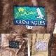 Jack Nicklaus ジャックニクラウス GLENEAGLES ヴィンテージ ドリズラージャケット スウィングトップ 送料無料 メンズ 40R/ベージュ系 ライナー付き アメリカ直輸入 USA ジッパージャケット コットンジャンパー アメカジ スイングトップ ビンテージ 古着卸 業販