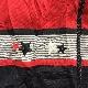 Bon Worth アメリカ直輸入 コットンジャケット ジッパージャンパー 送料無料 レディース メンズ M/赤x黒 モノトーン 星刺繍 ボーダー アメカジ モード カジュアル オールド USA 古着御 ユニセックス