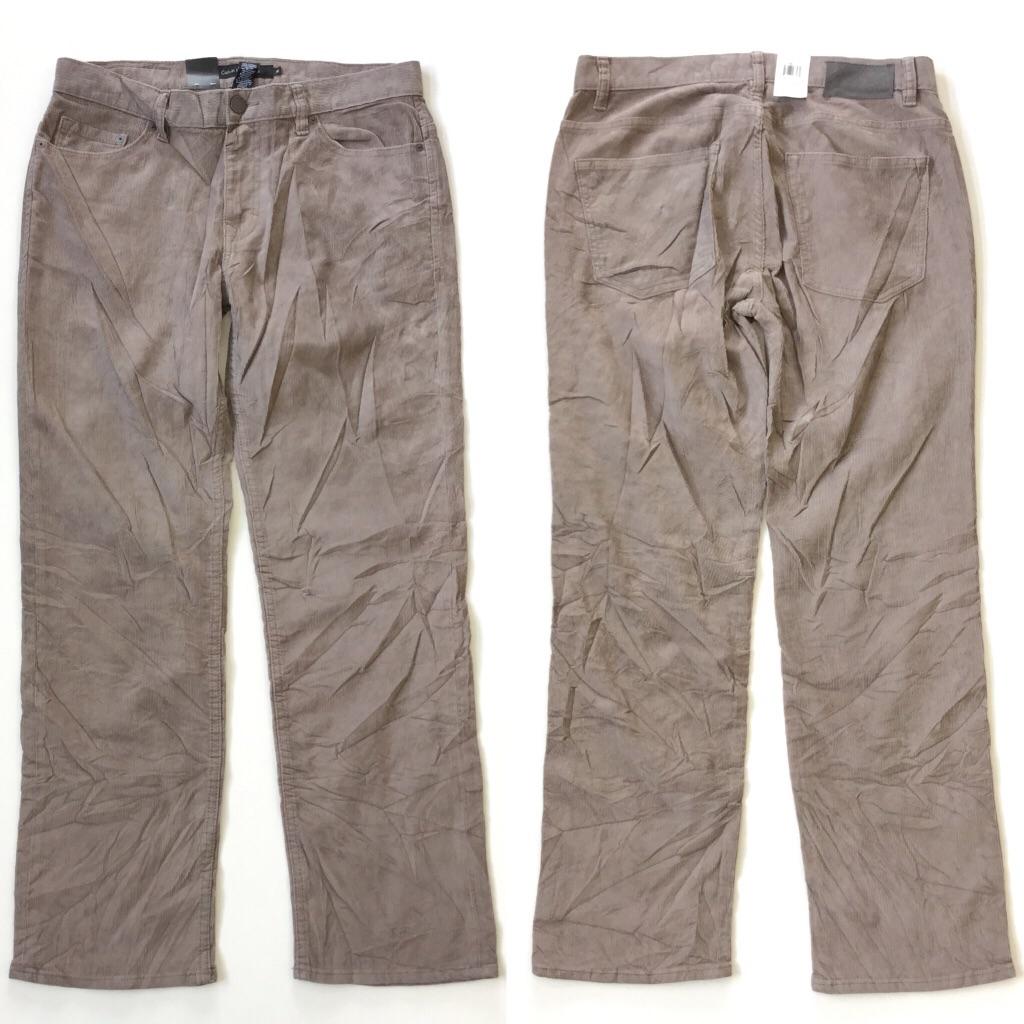 Calvin Klein Jeans カルバンクラインジーンズ コーデュロイパンツ デッドストック 未使用品 送料無料 メンズ 32x30 USA ブランド アメカジ カジュアル トラッド CK アメリカ直輸入 古着卸