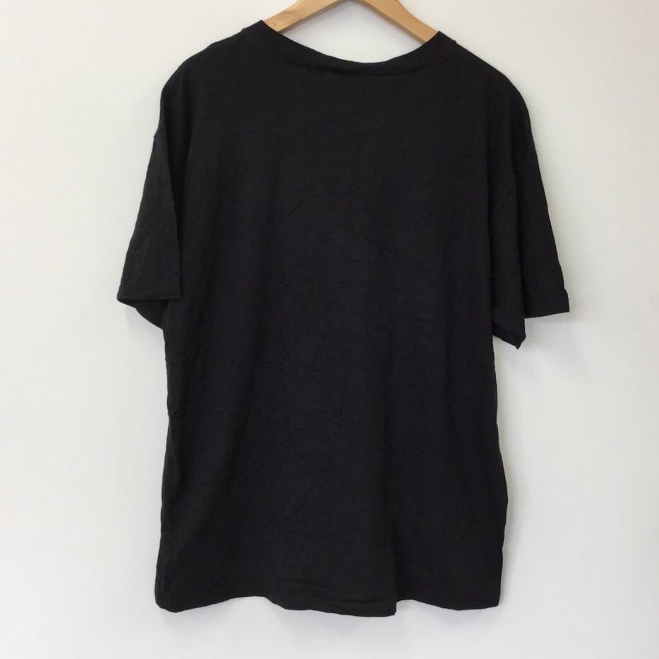 MIB メンインブラック ユニバーサルスタジオフロリダ 半袖Tシャツ 黒色 サイズL 映画 US古着 古着卸売 送料無料