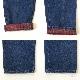 L.L.Bean DOUBLE L エルエルビーン チェックライナー付きデニムパンツ W74cm/濃紺 RELAXED FIT アメカジ ファーマーズ ブランド アウトドア トラッド USA 送料無料 古着卸 業販 メンズ レディース ユニセックス