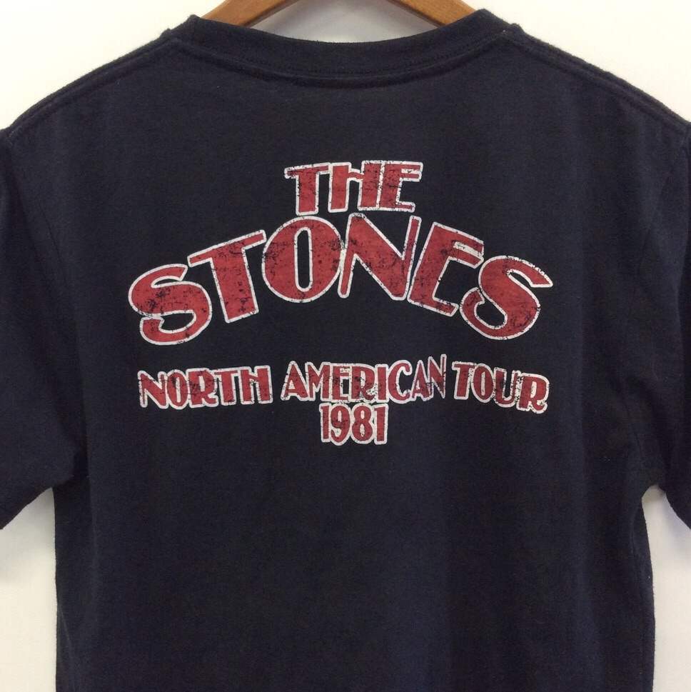 The Rolling Stones 送料無料 バンドTシャツ M/黒 ローリングストーンズ 半袖 ロックT 古着卸 アメカジ
