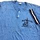 RUSSELL ATHLETIC ラッセルアスレチック 70〜80年代 ビンテージ アメリカ直輸入 スポーツTシャツ 送料無料 メンズ XXL/水色 半袖Tシャツ USA アメカジ ブランド スポT 古着卸 業販 大きい ビッグ オーバー