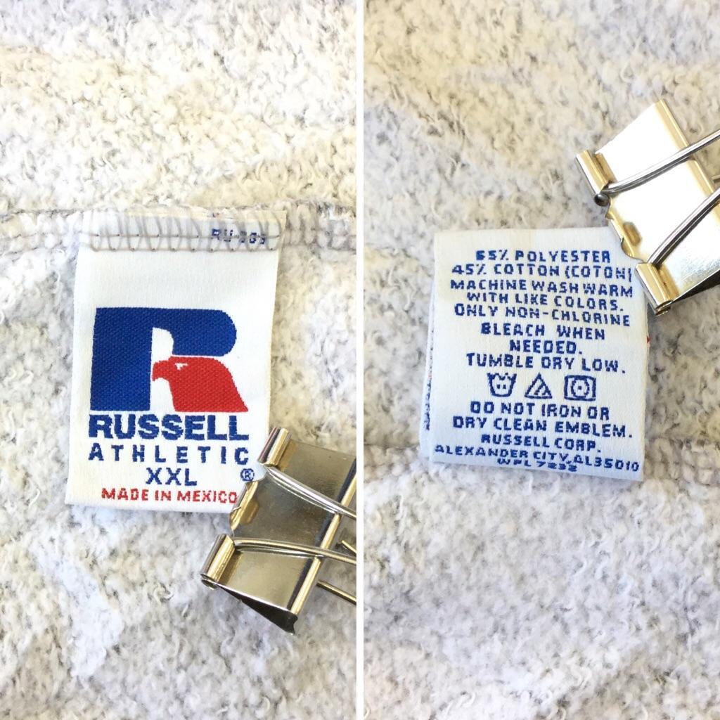 RUSSELL ラッセル アメリカ古着 スウェットパンツ ジョギングパンツ メンズ XXL/霜降りグレー ジャージパンツ 輸入品 送料無料 トレーニング スポーツ USA 古着卸 業販 大きい ビッグ オーバー