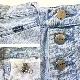 Wrangler ラングラー ボタンフライ デニムパンツ アメリカ直輸入 テーパードパンツ 送料無料 レディース W64/アイスブルー・デニムブルー スリム ハイウエスト アメリカ輸入 USA アメカジ ブランド ポップ カジュアル 古着卸 業販