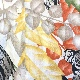 miss B 半袖ブラウス コットンシャツ アメリカ直輸入 柄シャツ レディース S/白地x多色 コアラ カンガルー ワラビー 動物 南国 リゾート アニマル カジュアル  MADE IN USA アメカジ ポップ 古着御 業販