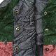 Learsi アメリカ直輸入 レザーベスト スーツベスト 送料無料 レディースM/紺x緑x小豆 パッチワーク スエード カジュアル 本革 USA 古着卸 業販 スウェード