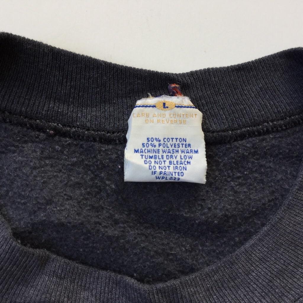 LEVI'S リーバイス アメリカ直輸入 ワンポイントスウェット トレーナー 送料無料 メンズ L/グレー MADE IN USA アメカジ ジーンズ ジージャン デニム 古着卸 業販