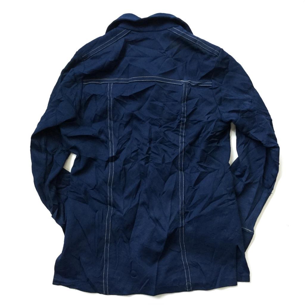 Levi's PANATELA リーバイス パナテラ ビンテージ シャツジャケット アメリカ直輸入 メンズ S/紺・ネイビー ウエスタン ワーク カントリー 送料無料 USA アメカジ ブランド 老舗 古着卸 業販