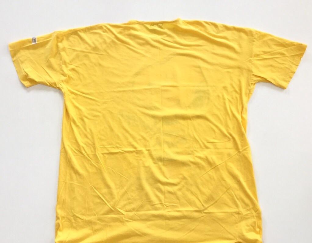 PEANUTS ピーナッツ SNOOPY スヌーピー 半袖ワンピース ビッグTシャツ レディース フリー/黄・イエロー ルームウェア チュニック リラックス ドレス 古着卸 送料無料 国内古着