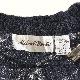 アメリカ古着 総柄セーター Vネックカーディガン 送料無料 メンズ M/グレーx白 柄物 アクリルニット モード カジュアル レトロ アメカジ USA 古着卸 業販