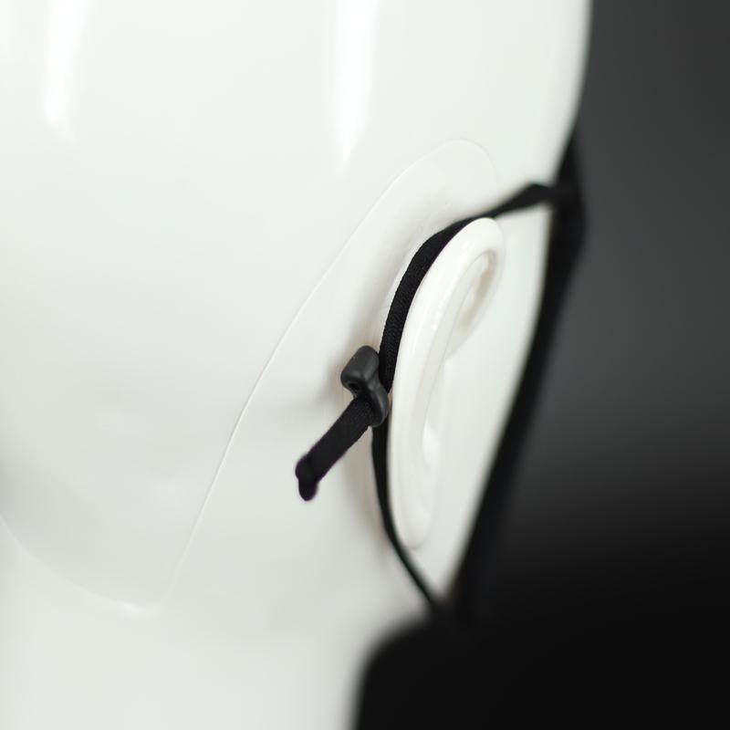 繰り返し洗って使えるエコマスク (グレー)