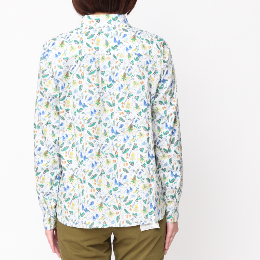 リバティ長袖レギュラーシャツ