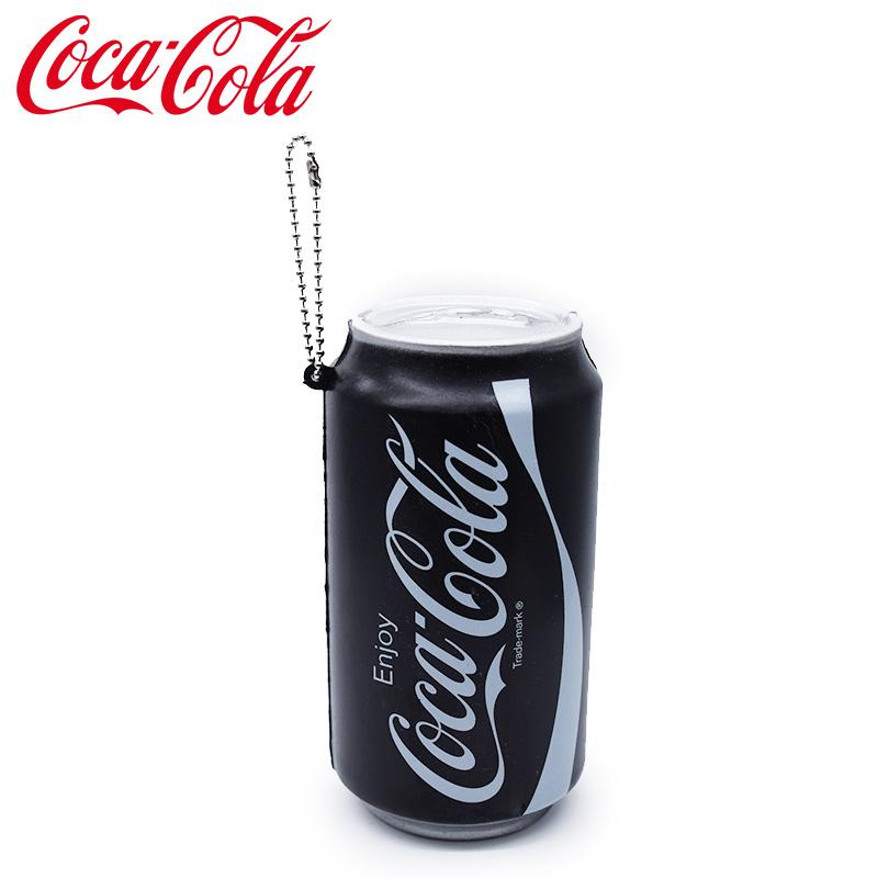 コカ・コーラ グッズ スクイーズキーチェーン ブラック