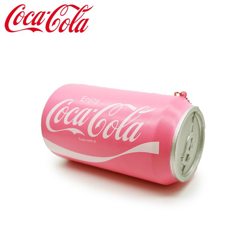 コカ・コーラ グッズ スクイーズキーチェーン ピンク