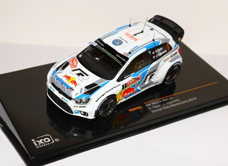 VW Polo R WRC #1 Winner Monte Carlo Rally 2014