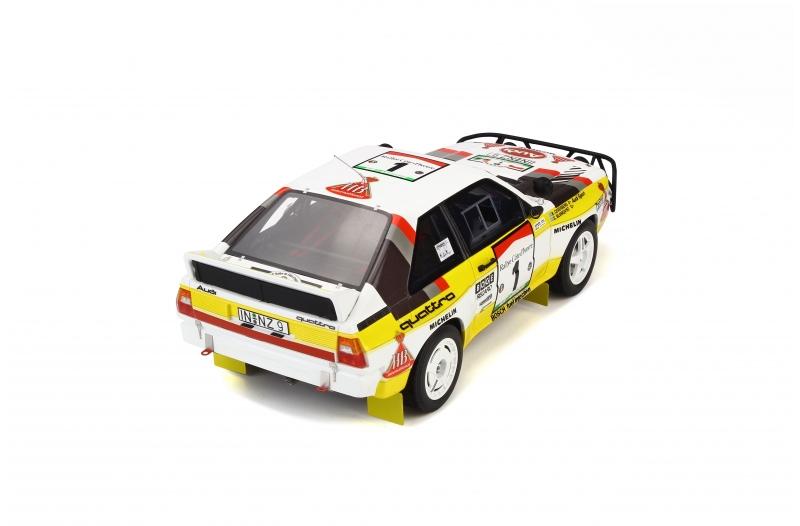 1/18 Audi Quattro Sport Gr. B E2 Rally Safari
