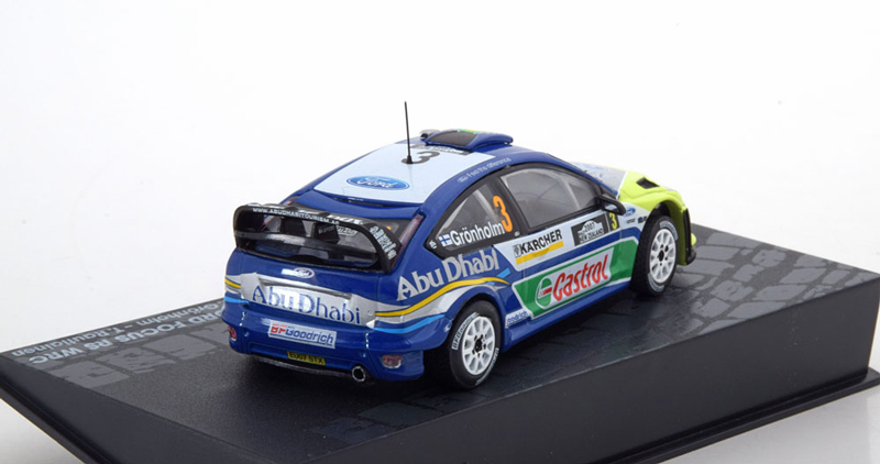 FORD FOCUS RS WRC Rally New Zealand 2007 #3