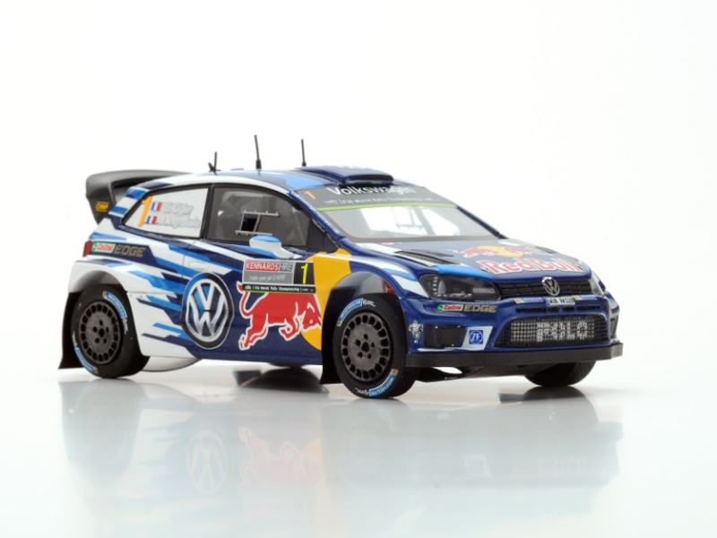 "Volkswagen Polo R WRC n.1 2nd Rally Australia 2016 ""Last Race"" World Champion"