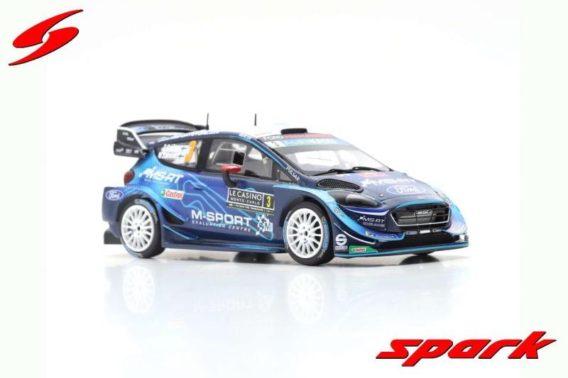 FORD FIESTA WRC M-SPORT FORD WRT NO.3 RALLY MONTE CARLO 2019