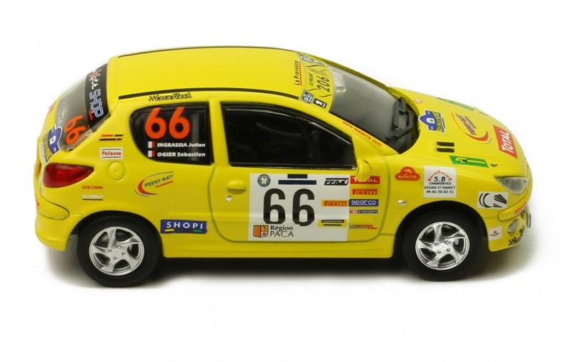 Peugeot 206 XS #66 Rally Terre de Provence 2006