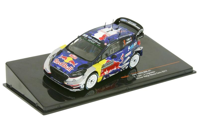 FORD FIESTA WRC #1 Winner Rallye Monte Carlo 2017