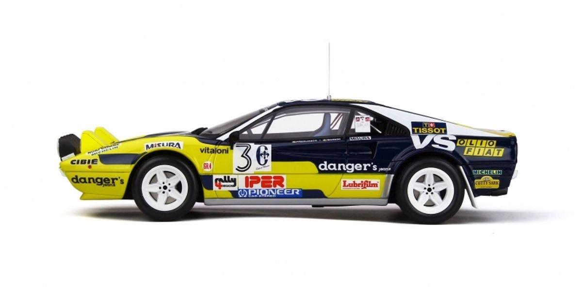 1/18 Ferrari 308 GTB Gr.4 # 3 (Yellow / Dark Blue)