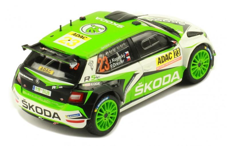 SKODA FABIA R5 EVO #23 RALLY GERMANY 2019