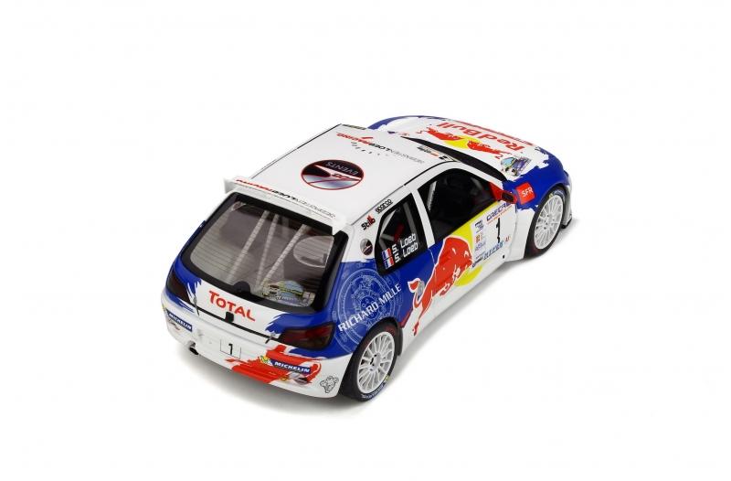 1/18 Peugeot 306 Maxi Rallye National de Haute-Provence 2017
