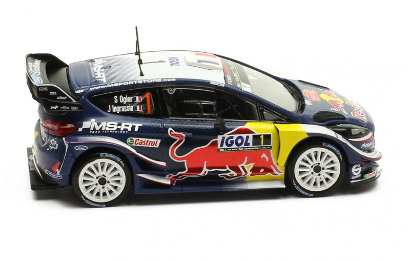 FORD FIESTA WRC #1 Winner Tour de Corse 2018