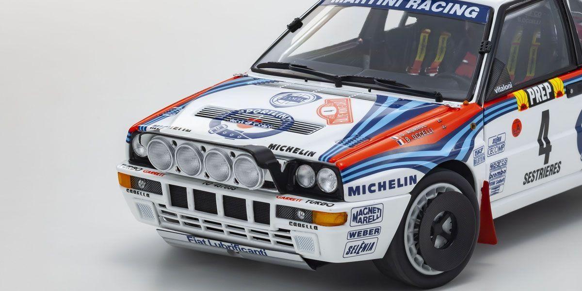 1/18 Lancia Delta HF Integrale 1992 Monte Carlo #4